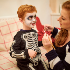 Take a Nightmare Before Christmas Halloween Makeup Workshop