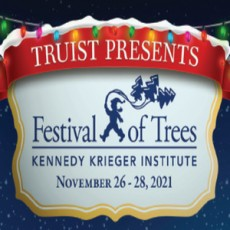 Things to do in Towson, MD for Kids: 32nd Annual Festival of Trees, Kennedy Krieger Institute