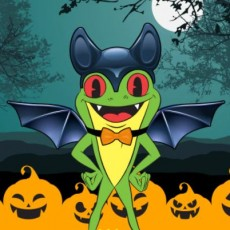 Things to do in Hulafrog at Home for Kids: Join Cha! Cha!'s Halloween Spook-tacular, Rainforest Cafe