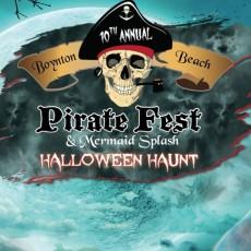 Palm Beach Gardens, FL Events for Kids: The 10th Annual Boynton Beach Haunted Pirate Fest & Mermaid Splash