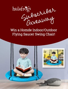 Flying Saucer Outdoor Indoor Tree Swing Set October 2020 Giveaway