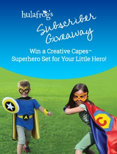 Creative Capes Superhero Set January 2021 Giveaway