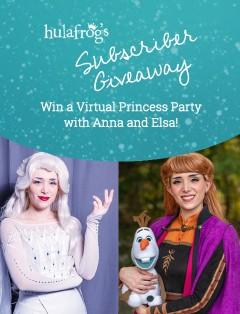 Princess Party May 2021 Giveaway