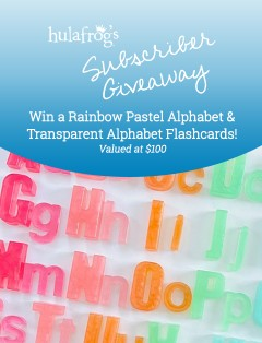 Busy Littles Alphabet Flashcards June 2021 Giveaway