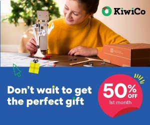 Save 50% on KiwiCo