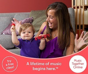 Enroll in Music Together Online this Winter