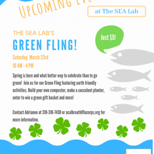 Los Angeles South Bay, CA Events: The SEA Lab's Green Fling