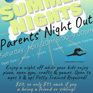 Rock Hill, SC Events: Summer Nights Parents' Night Out!