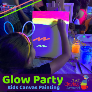 Plymouth-Middleborough, MA Events: Family Glow Canvas Painting