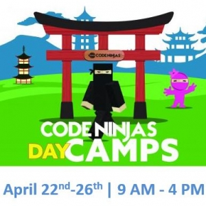 Code Ninjas One-day Camps Spring Recess