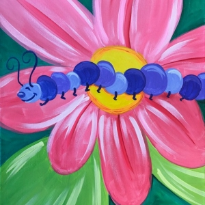 Southern Monmouth, NJ Events: Kiddo Caterpillar Painting