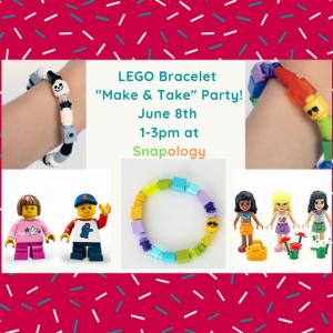Things to do in Red Bank, NJ for Kids: LEGO ® Bracelet