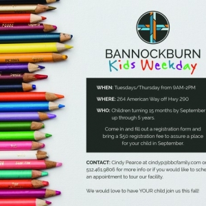 Bannockburn Church & Preschool - Dripping Springs