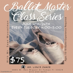 South Tampa, FL Events: Ballet Master Class