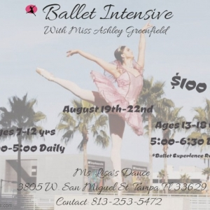 South Tampa, FL Events: Ballet Intensive