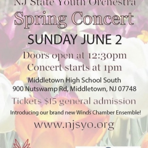 Things to do in Red Bank, NJ: NJ State Youth Orchestra Spring Concert