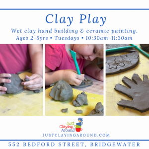 Plymouth-Middleborough, MA Events: Clay Play Tuesday