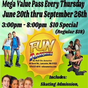 Leominster-Lancaster, MA Events: Mega Value Pass Every Thursday