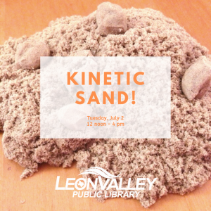 San Antonio Northwest, TX Events: Kinetic Sand