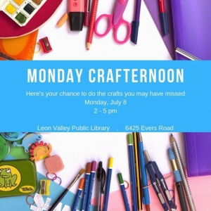 San Antonio Northwest, TX Events: Monday Crafternoon