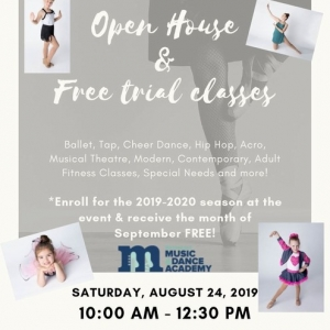 Southern Monmouth, NJ Events: Open House with FREE trial classes