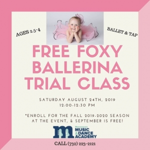 Southern Monmouth, NJ Events: Free Foxy Ballet Class