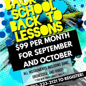 Southern Monmouth, NJ Events: Back to School Lessons! $99 Per Month