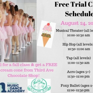 Southern Monmouth, NJ Events: FREE trial dance classes