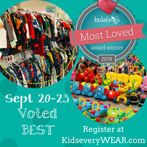 Kids EveryWEAR Consignment Sale - Voted BEST