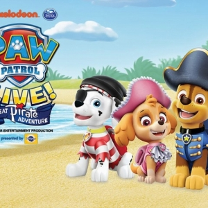Things to do in Westfield-Clark, NJ for Kids:  Paw Patrol Live! The Great Pirate Adventure, New Jersey Performing Arts Center (NJPAC)