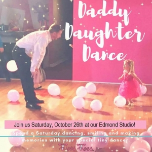 Oklahoma City North, OK Events for Kids:  Daddy Daughter Dance- Tippi Toes OKC