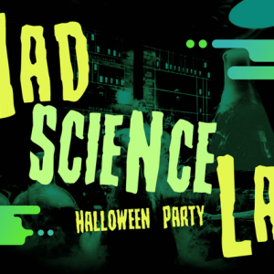 Mad Science Lab Halloween Party