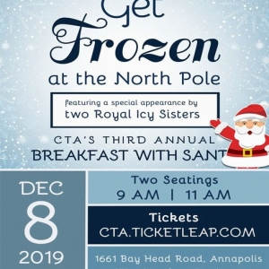 Annapolis-Severna Park, MD Events for Kids: Breakfast w/ Santa & 2 Frozen Sisters