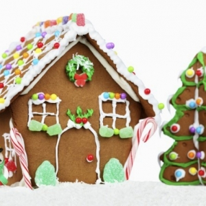 Things to do in San Diego North, CA for Kids:  Gingerbread Houses, Rancho Bernardo Branch Library