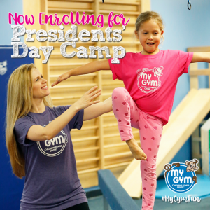 Things to do in Summit-Basking Ridge, NJ for Kids: President's Day Camp at My Gym New Prov, My Gym New Providence