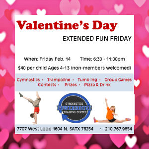 Things to do in San Antonio Northwest, TX: Ext. Fun Friday - Valentine's Day