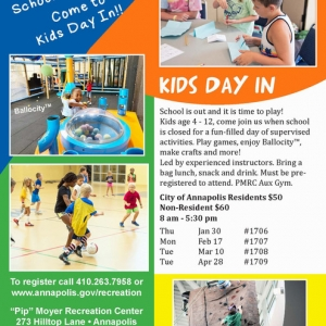 Annapolis-Severna Park, MD Events for Kids: Kids Day In