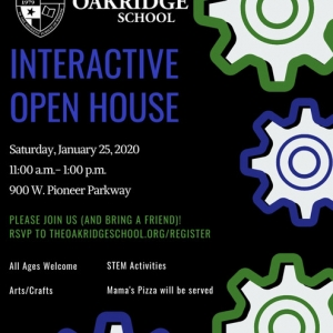 Things to do in Arlington, TX for Kids: Interactive Open House, The Oakridge School