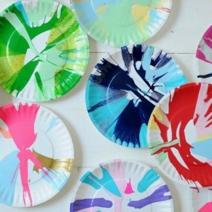 Process and Play: Spin Art