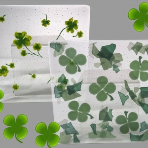 St Patrick's Day Fused Plate Craft