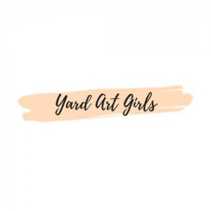 Yard Art Girls: Special Messages For Your Front Yard