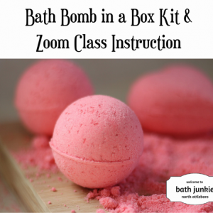 Things to do in Mansfield-Attleboro, MA for Kids: Bath Bomb Kit in a Box and Zoom Class, Home Party Solutions