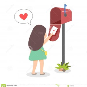 Mail a Letter: L = Love Note
