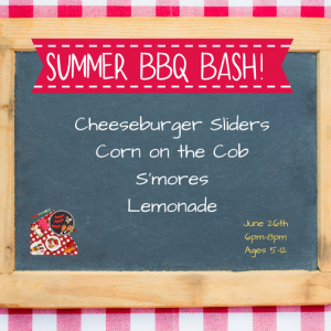 Lake Norman, NC Events: Kids Night Out: Summer BBQ Bash!