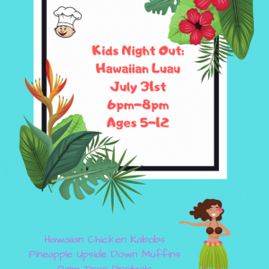 Lake Norman, NC Events: Kids Night Out: Hawaiian Luau