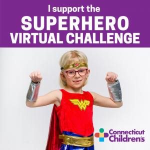Accept the Superhero Virtual Challenge!