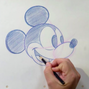 Disney Learn-to-Draw Tutorials
