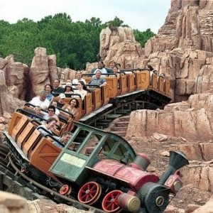 Big Thunder Mountain Virtual Ride
