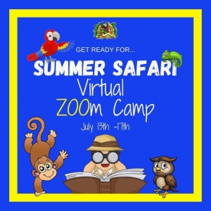 Things to do in San Diego North, CA for Kids: Summer Safari Virtual ZOOm Camp, Pacific Animal Productions