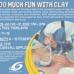 Greenville, SC Events: Clay Workshop